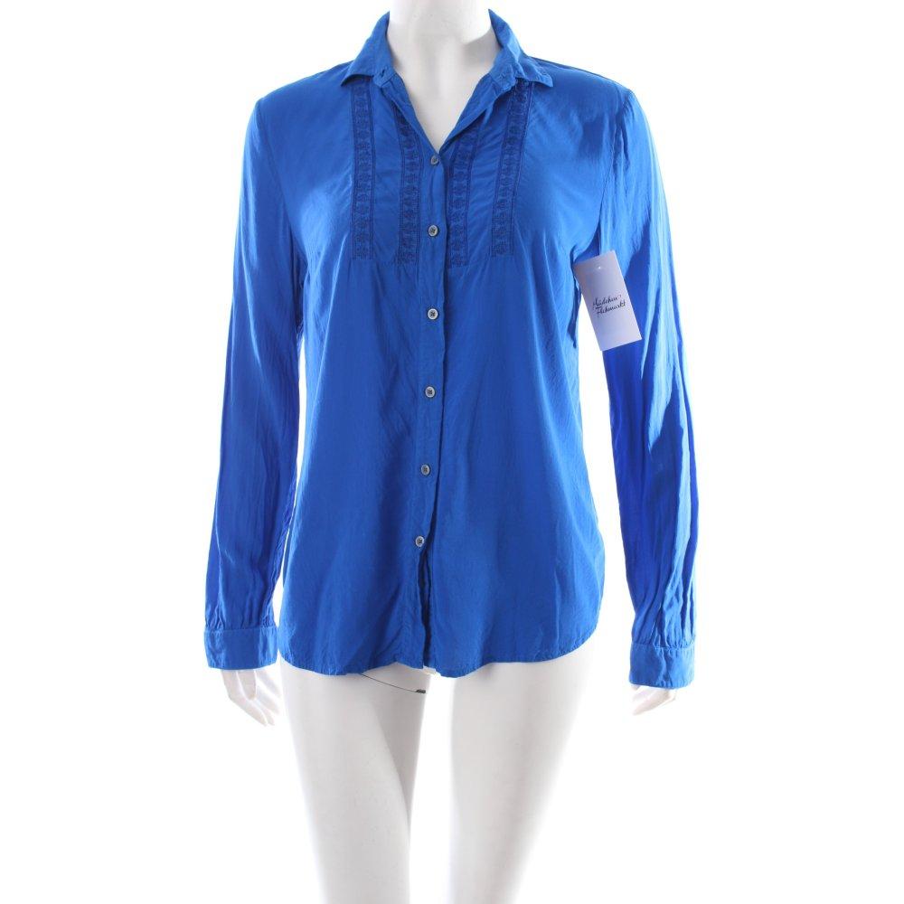 boss orange langarm bluse blau klassischer stil damen gr de 36 blouse ebay. Black Bedroom Furniture Sets. Home Design Ideas