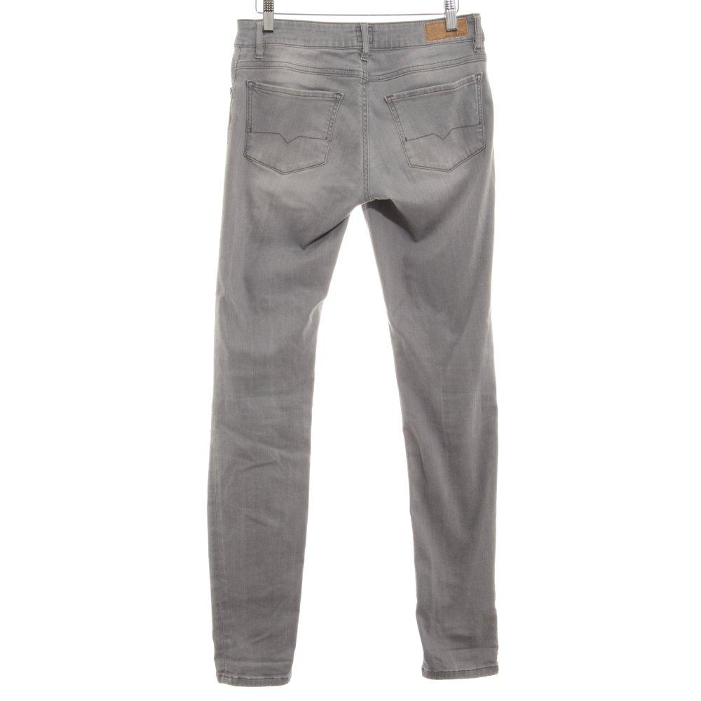 boss orange skinny jeans hellgrau casual look damen gr de. Black Bedroom Furniture Sets. Home Design Ideas