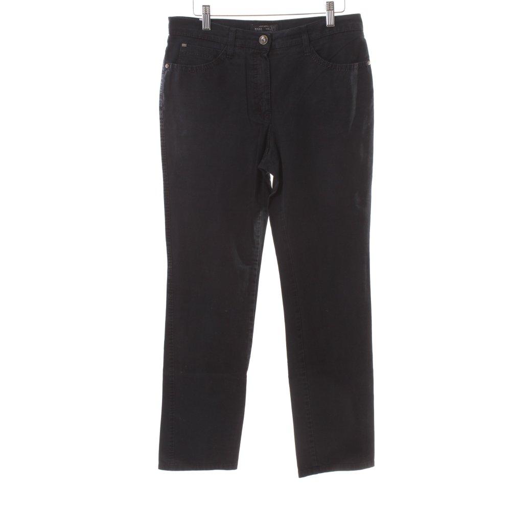 brax slim jeans mary black women s size uk 10 ebay. Black Bedroom Furniture Sets. Home Design Ideas