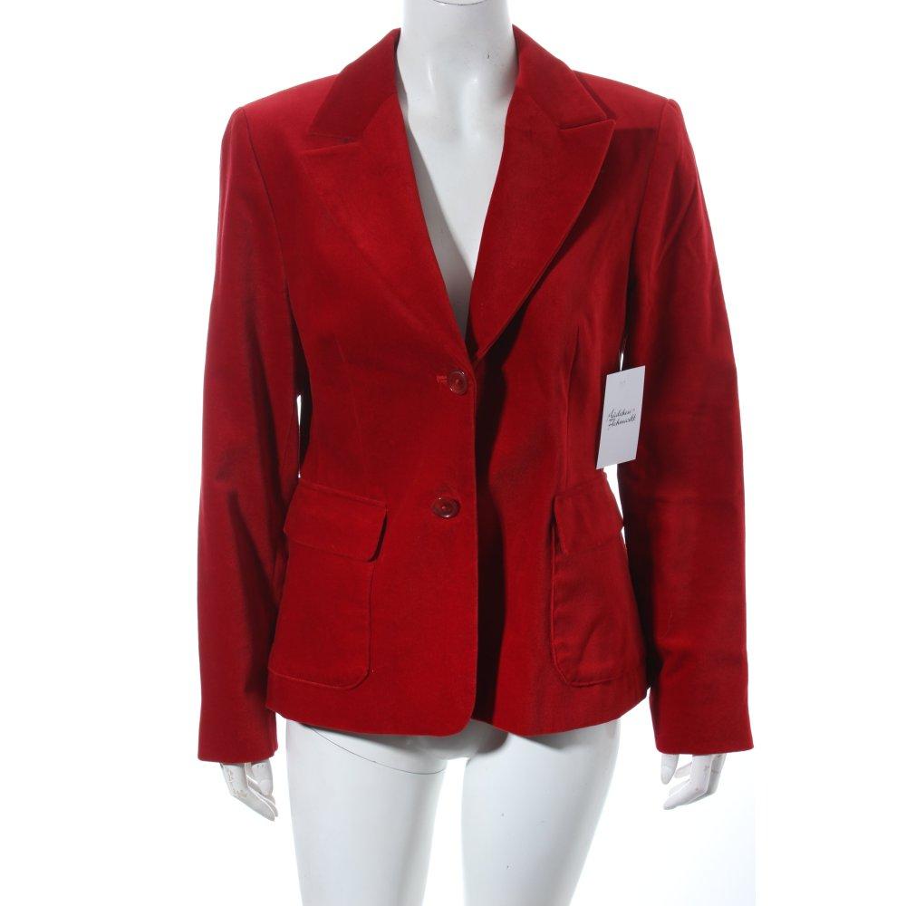 brookshire long blazer rot elegant damen gr de 38 baumwolle long blazer. Black Bedroom Furniture Sets. Home Design Ideas
