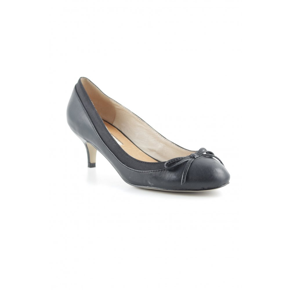 buffalo london high heels schwarz business look damen gr. Black Bedroom Furniture Sets. Home Design Ideas