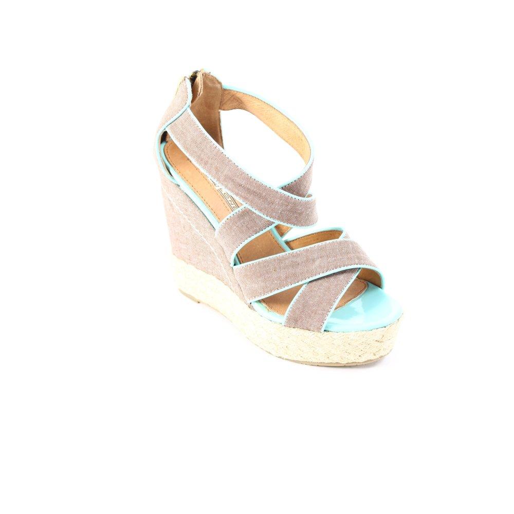 Sandaletten Billig Damen Beige Online Rieker Sandalen WYH29IED