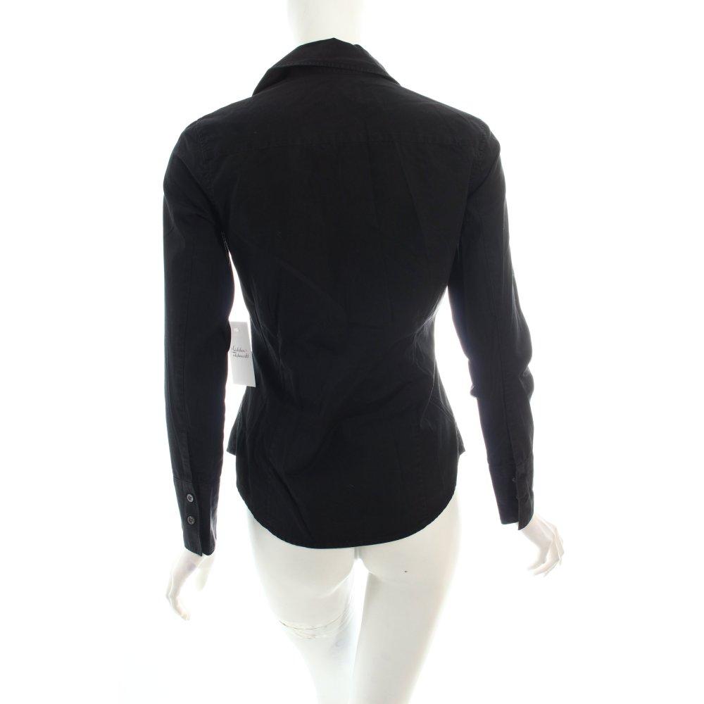 Burberry hemd bluse schwarz creme klassischer stil damen - Burberry hemd damen ...