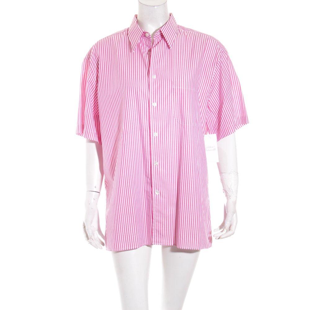 Burberry hemd rosa wei streifenmuster elegant damen gr - Burberry hemd damen ...