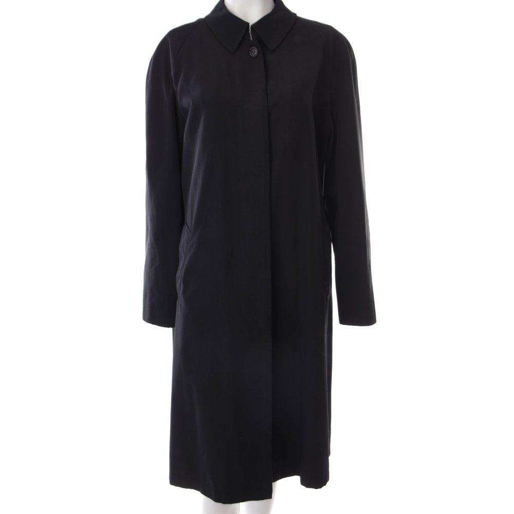 Burberry mantel schwarz damen gr de 40 coat ebay for Burberry damen mantel