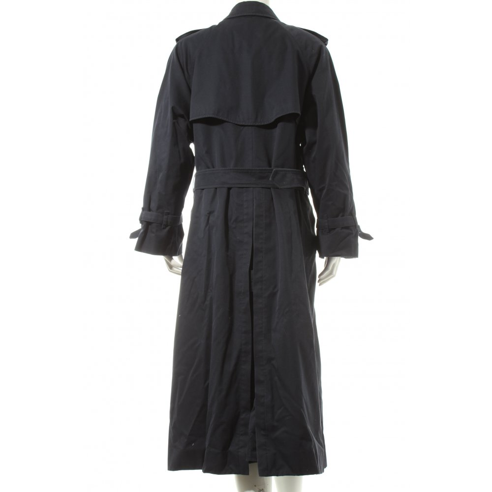 burberry trenchcoat dunkelblau klassischer stil damen gr de 44 mantel coat. Black Bedroom Furniture Sets. Home Design Ideas