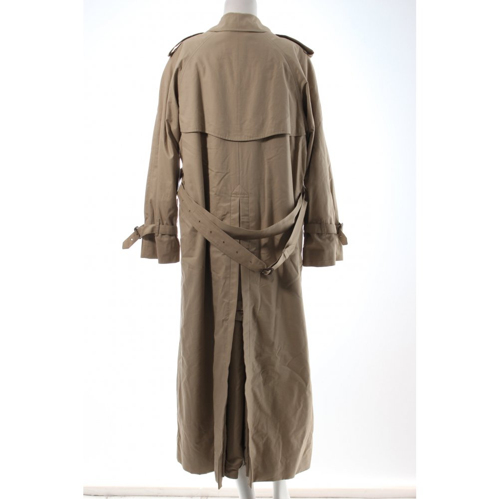 burberry trench coat oatmeal classic style women s size uk 16 ebay. Black Bedroom Furniture Sets. Home Design Ideas