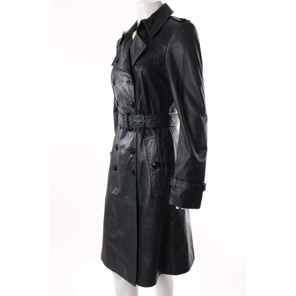 Burberry mantel damen schwarz modische jacken dieser - Burberry damen mantel ...