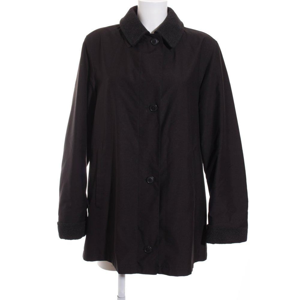 burberry wintermantel karomuster casual look damen gr de 40 schwarz mantel coat ebay. Black Bedroom Furniture Sets. Home Design Ideas
