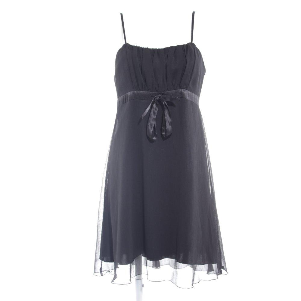 C A Robe De Soiree Noir Elegant Dames T 40 Ebay