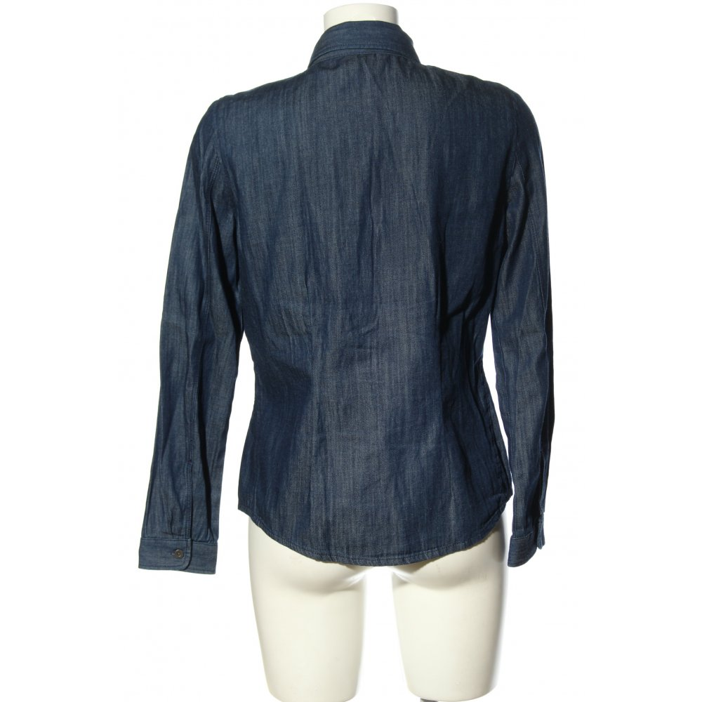 C&A Camisa vaquera azul moteado look casual Mujeres Talla EU