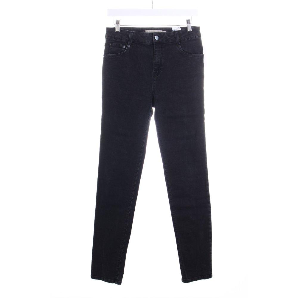 details zu calvin klein jeans skinny jeans schwarz casual look damen. Black Bedroom Furniture Sets. Home Design Ideas