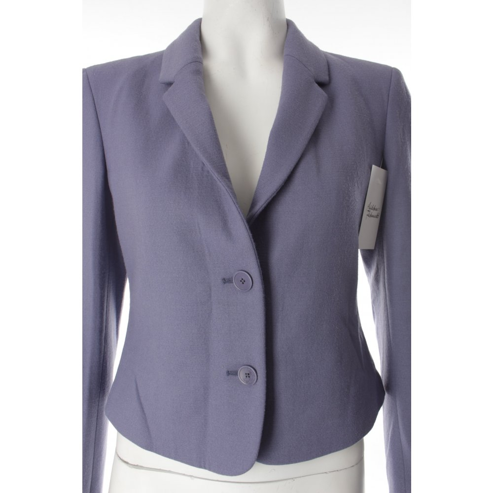 calvin klein kurz blazer graulila klassischer stil damen gr de 38 short blazer ebay. Black Bedroom Furniture Sets. Home Design Ideas