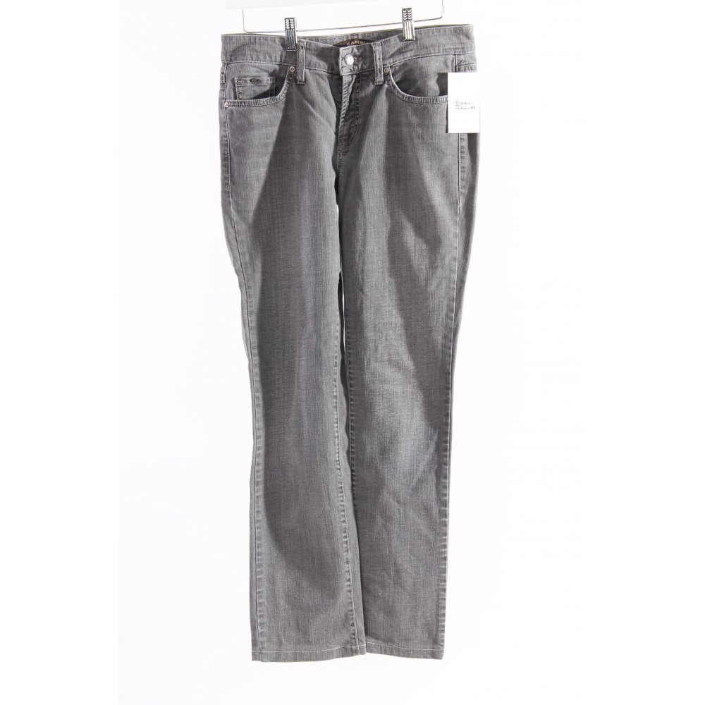 cambio slim jeans grau damen gr de 38 baumwolle ebay. Black Bedroom Furniture Sets. Home Design Ideas