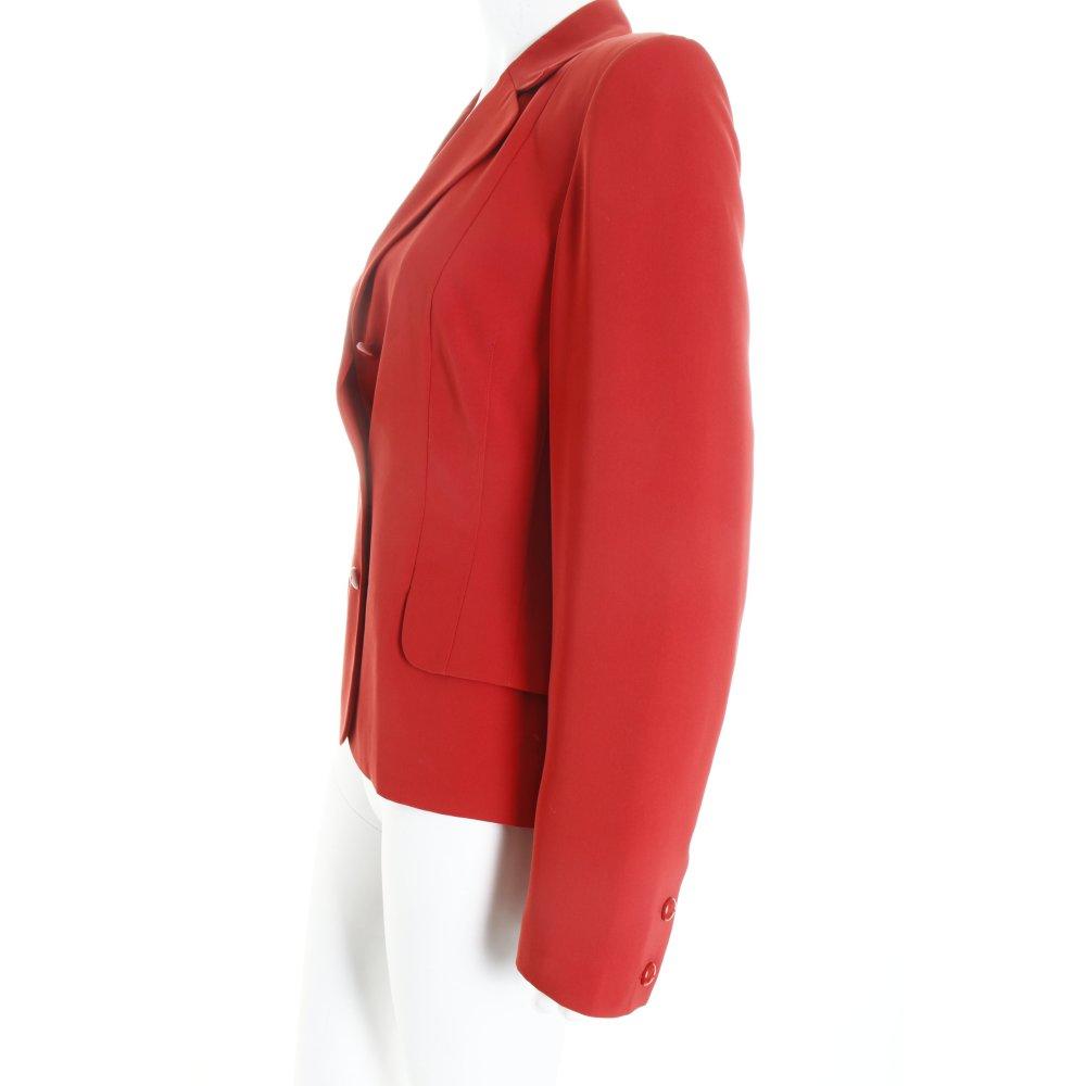 cartoon kurz blazer rot business look damen gr de 36 short blazer ebay. Black Bedroom Furniture Sets. Home Design Ideas