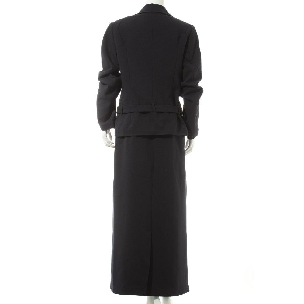 chaloc kost m dunkelblau business look damen gr de 40 anzug suit. Black Bedroom Furniture Sets. Home Design Ideas