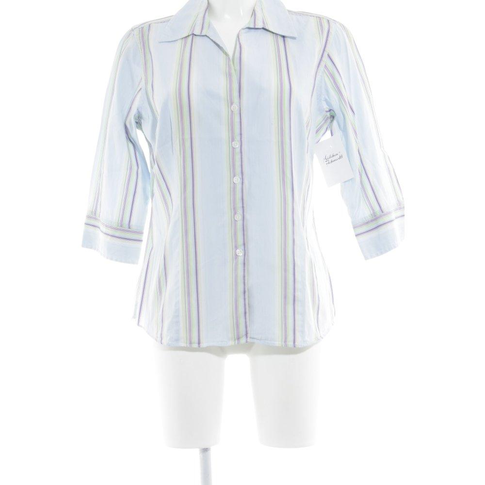 Details Zu Charles Tyrwhitt Hemd Bluse Streifenmuster Business Look Damen Gr De 42 Blouse