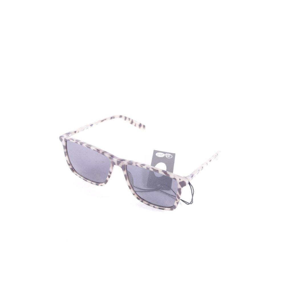 cheap monday eckige sonnenbrille gr ngrau schwarz animalmuster damen sunglasses ebay. Black Bedroom Furniture Sets. Home Design Ideas