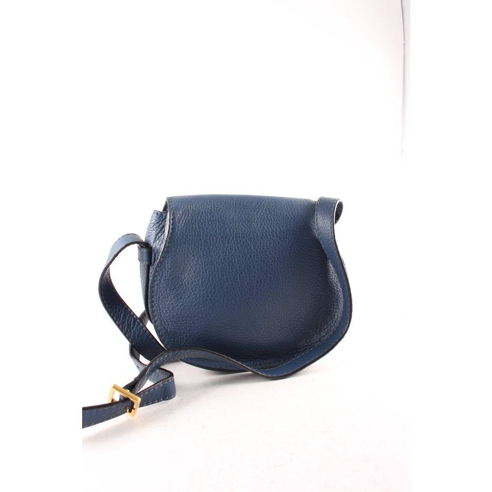 chlo umh ngetasche marcie bag small dunkelblau damen. Black Bedroom Furniture Sets. Home Design Ideas