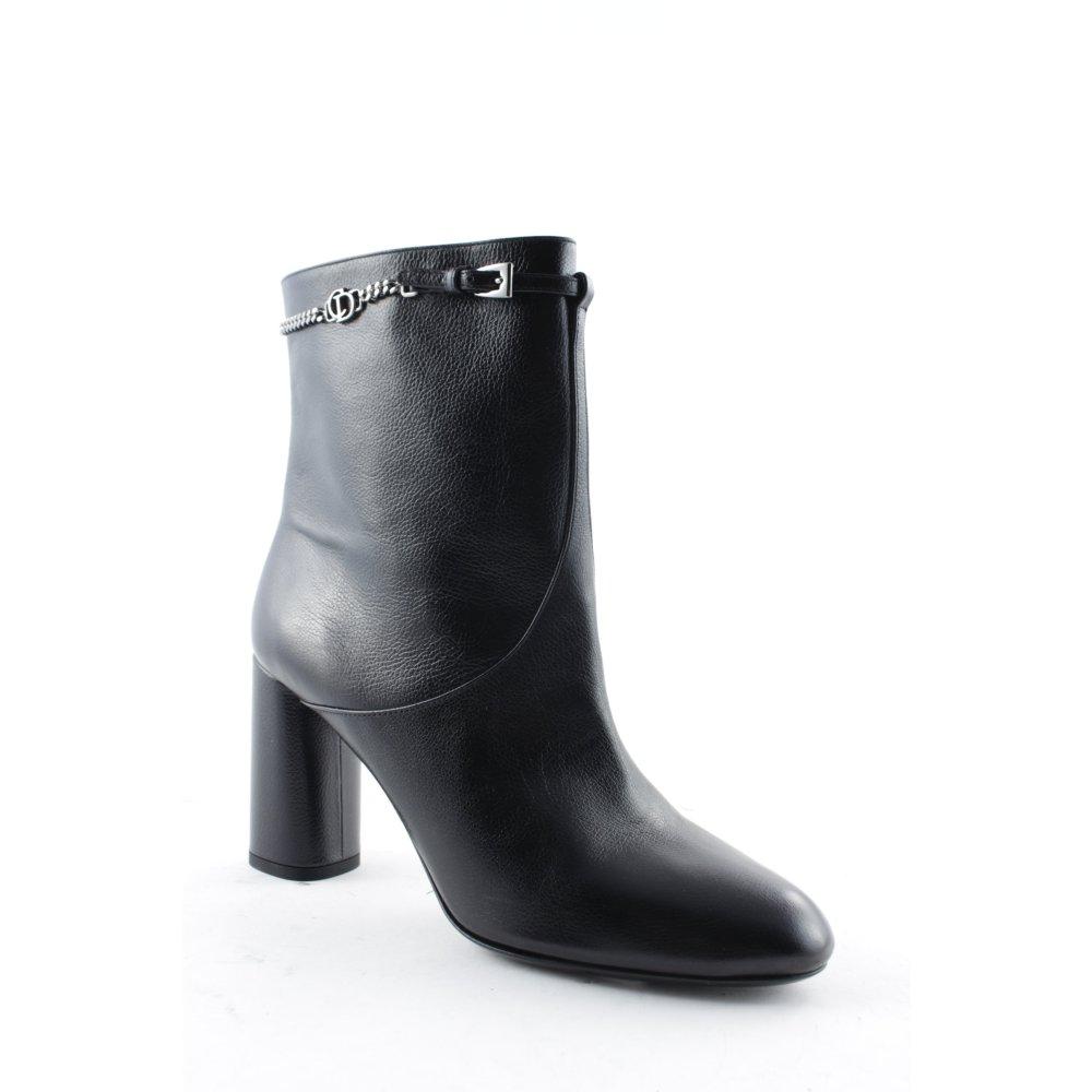 christian dior rei verschluss stiefeletten chic low boot. Black Bedroom Furniture Sets. Home Design Ideas