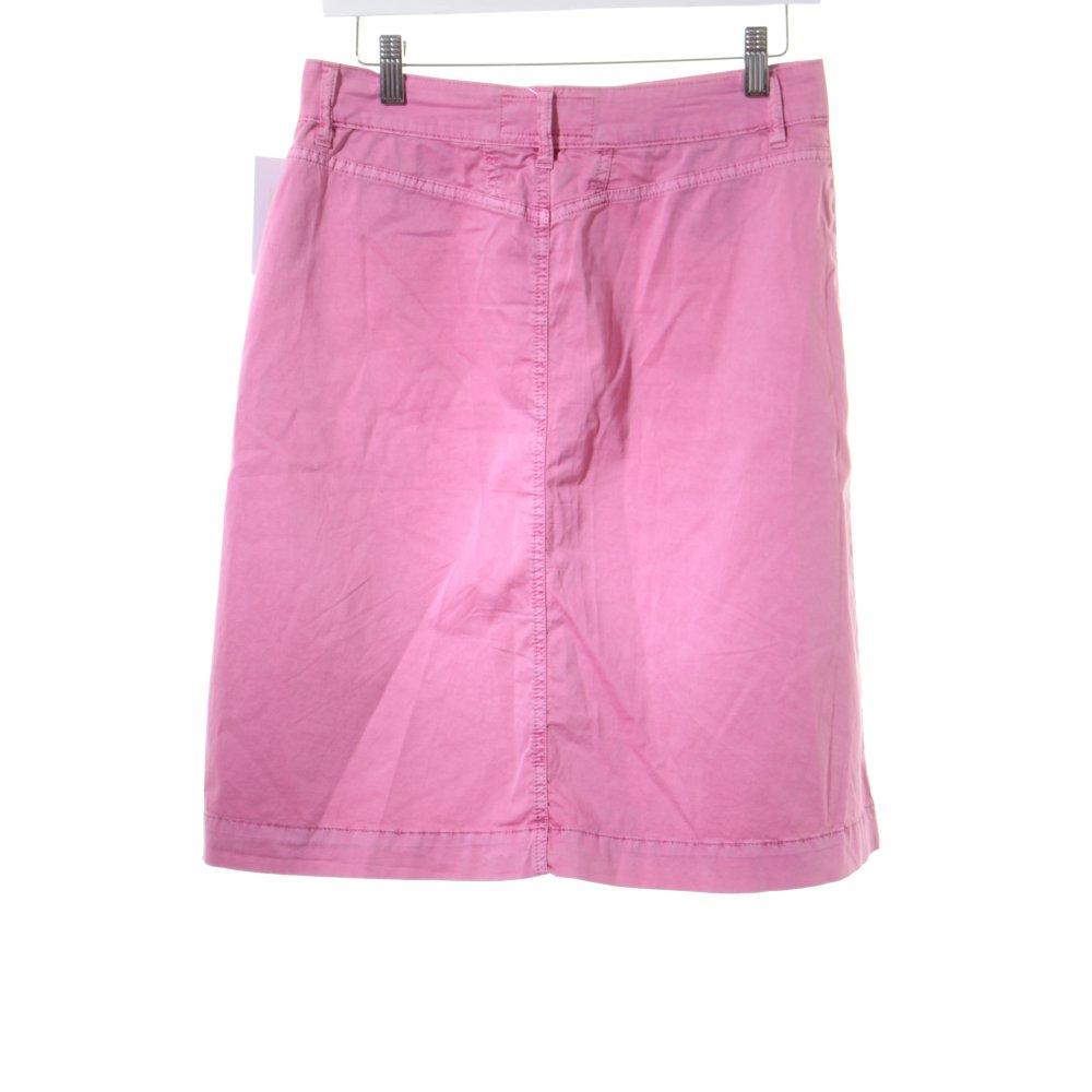 closed high waist rock rosa casual look damen gr de 38. Black Bedroom Furniture Sets. Home Design Ideas
