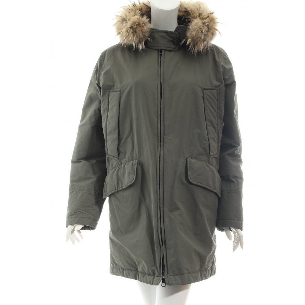closed parka apollo khaki damen gr de 40 jacke jacket. Black Bedroom Furniture Sets. Home Design Ideas