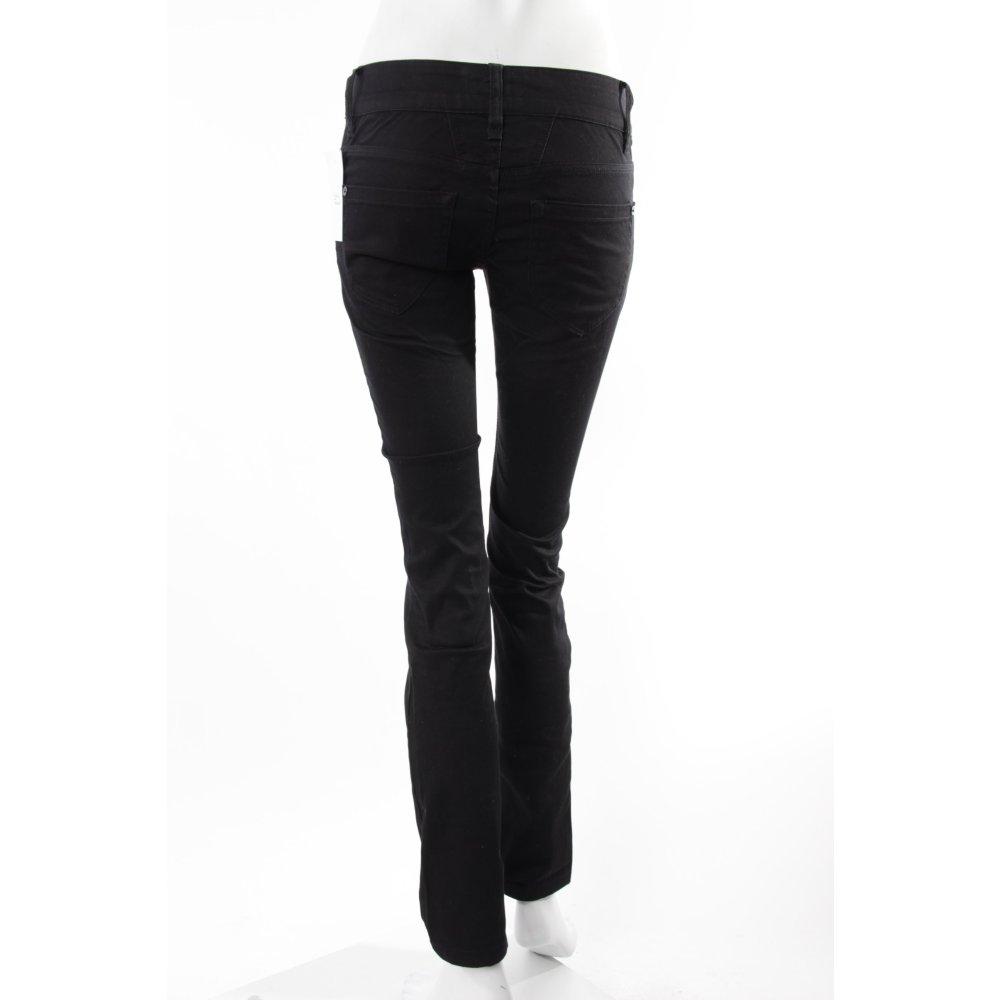 closed skinny jeans schwarz damen gr de 34 baumwolle ebay. Black Bedroom Furniture Sets. Home Design Ideas