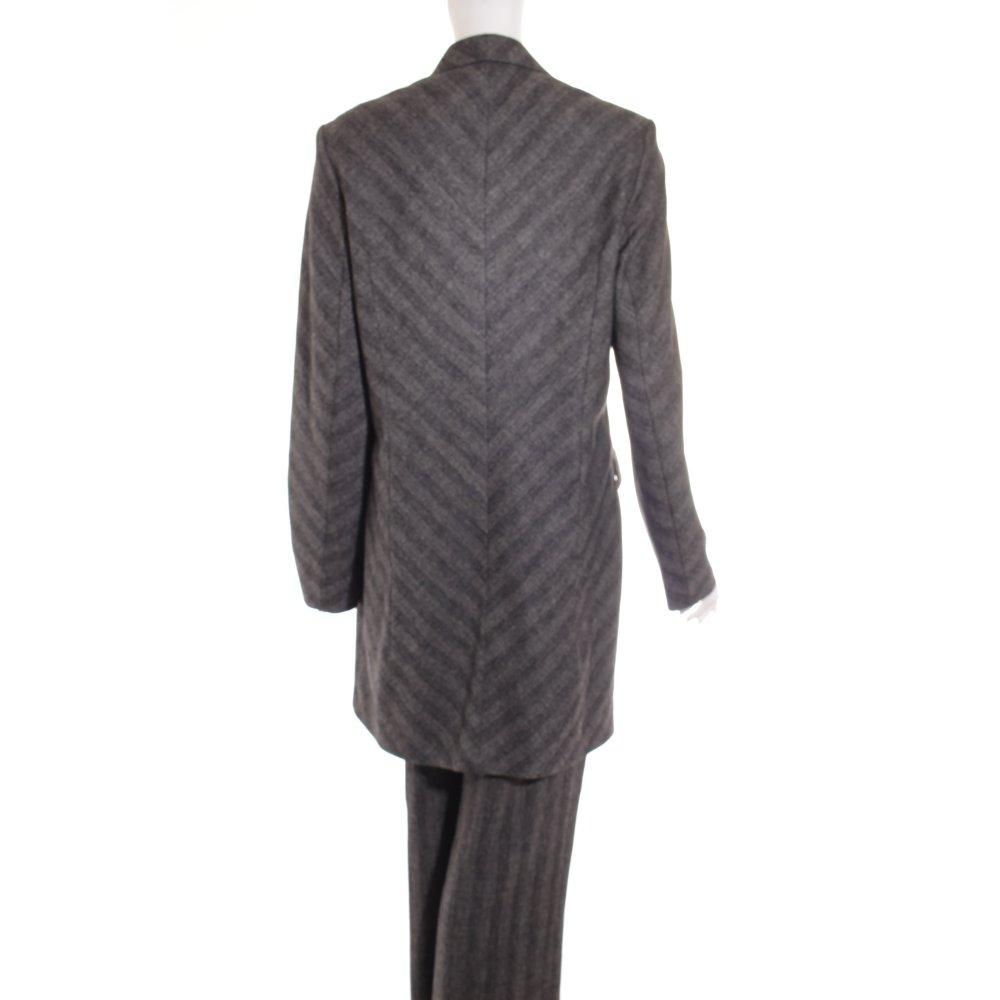 Clothcraft hosenanzug anthrazit grau streifenmuster for Klassischer stil