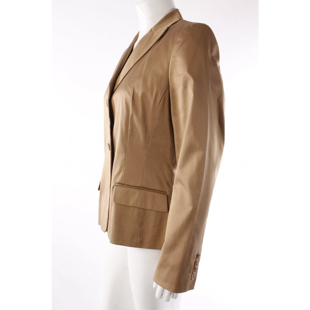 cm by pabst blazer beige damen gr de 38 baumwolle ebay. Black Bedroom Furniture Sets. Home Design Ideas