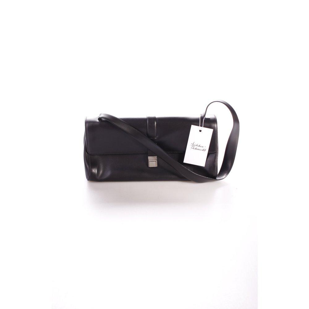 coccinelle handbag black classic style women s bag leather ebay. Black Bedroom Furniture Sets. Home Design Ideas