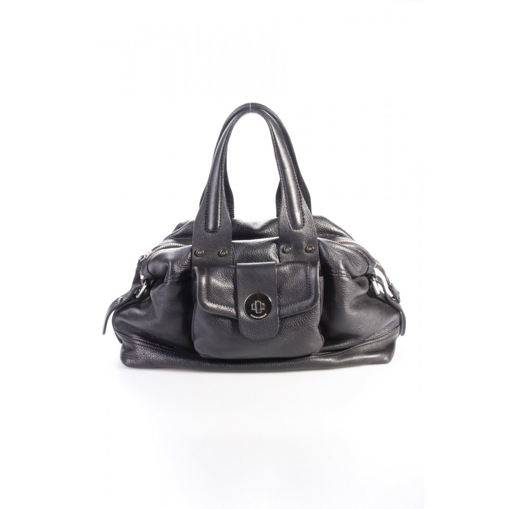 coccinelle henkeltasche schwarz one size. Black Bedroom Furniture Sets. Home Design Ideas