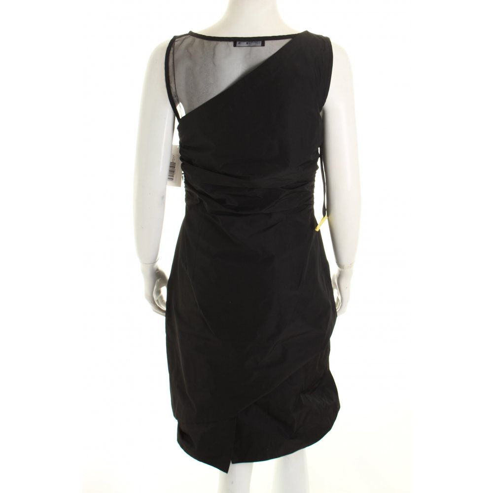 comma a linien kleid schwarz elegant damen gr de 36 dress a line dress. Black Bedroom Furniture Sets. Home Design Ideas