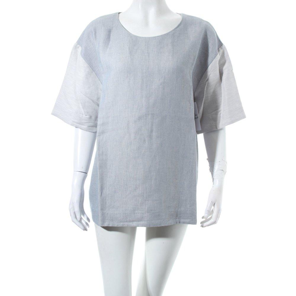 Cos shirt himmelblau hellblau webmuster klassischer stil for Klassischer stil
