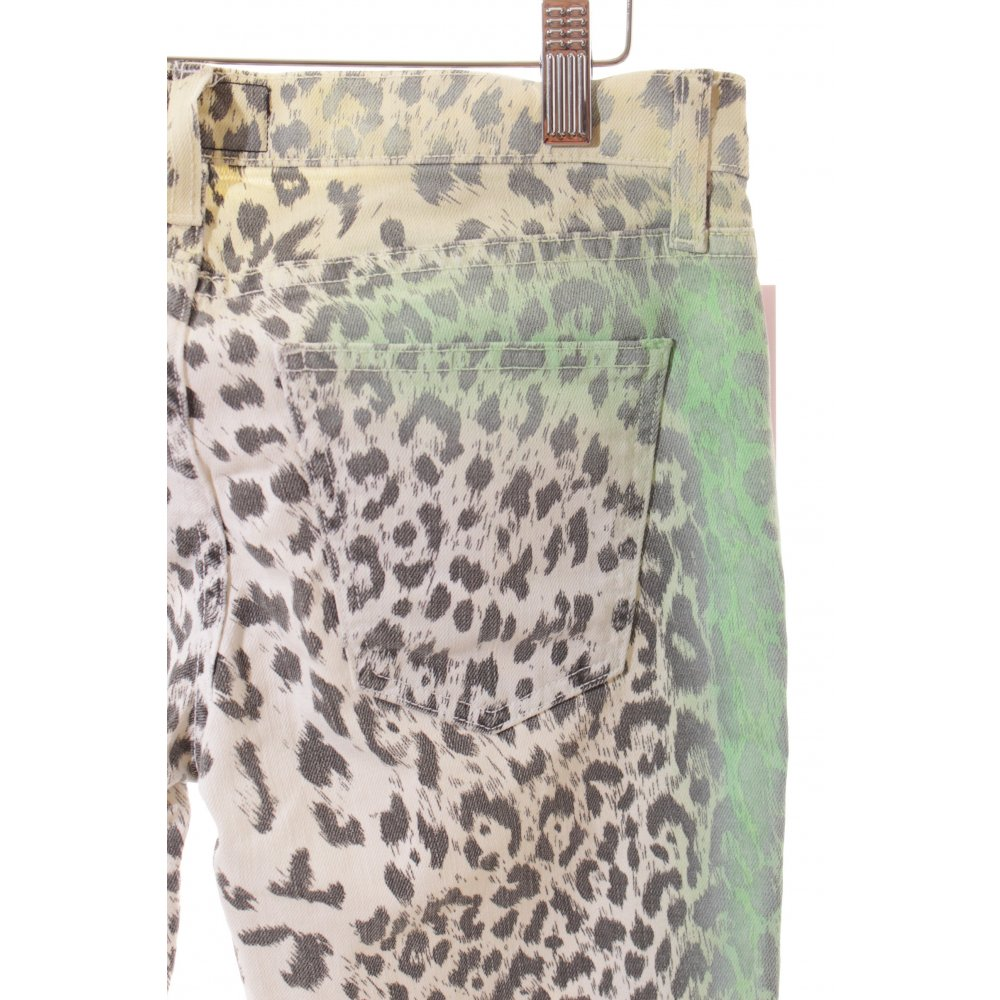 current elliott skinny jeans leopard pattern extravagant style women s size uk 6 ebay. Black Bedroom Furniture Sets. Home Design Ideas