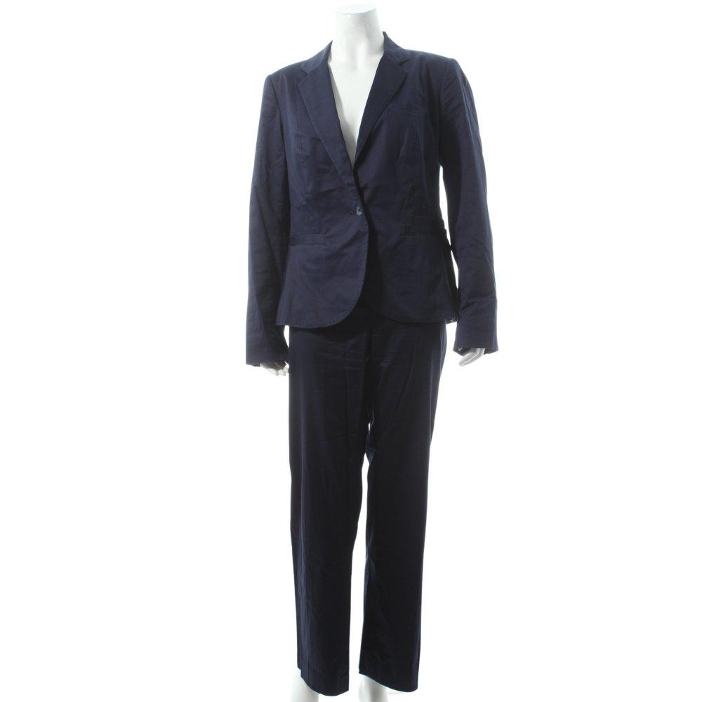 cyrillus hosenanzug dunkelblau business look damen gr de 42 anzug suit ebay. Black Bedroom Furniture Sets. Home Design Ideas