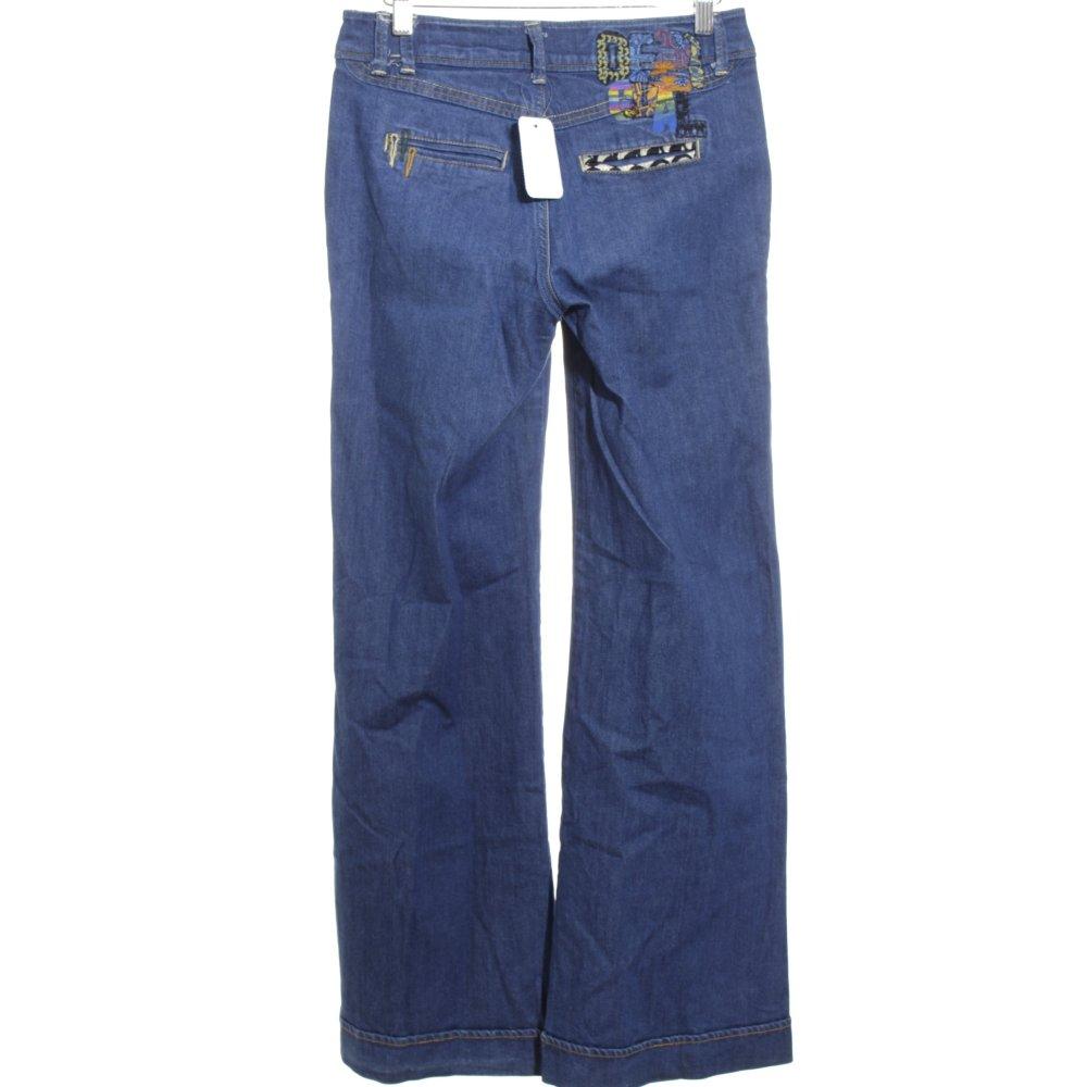 desigual marlenejeans blau casual look damen gr de 34 jeans marlene denim ebay. Black Bedroom Furniture Sets. Home Design Ideas