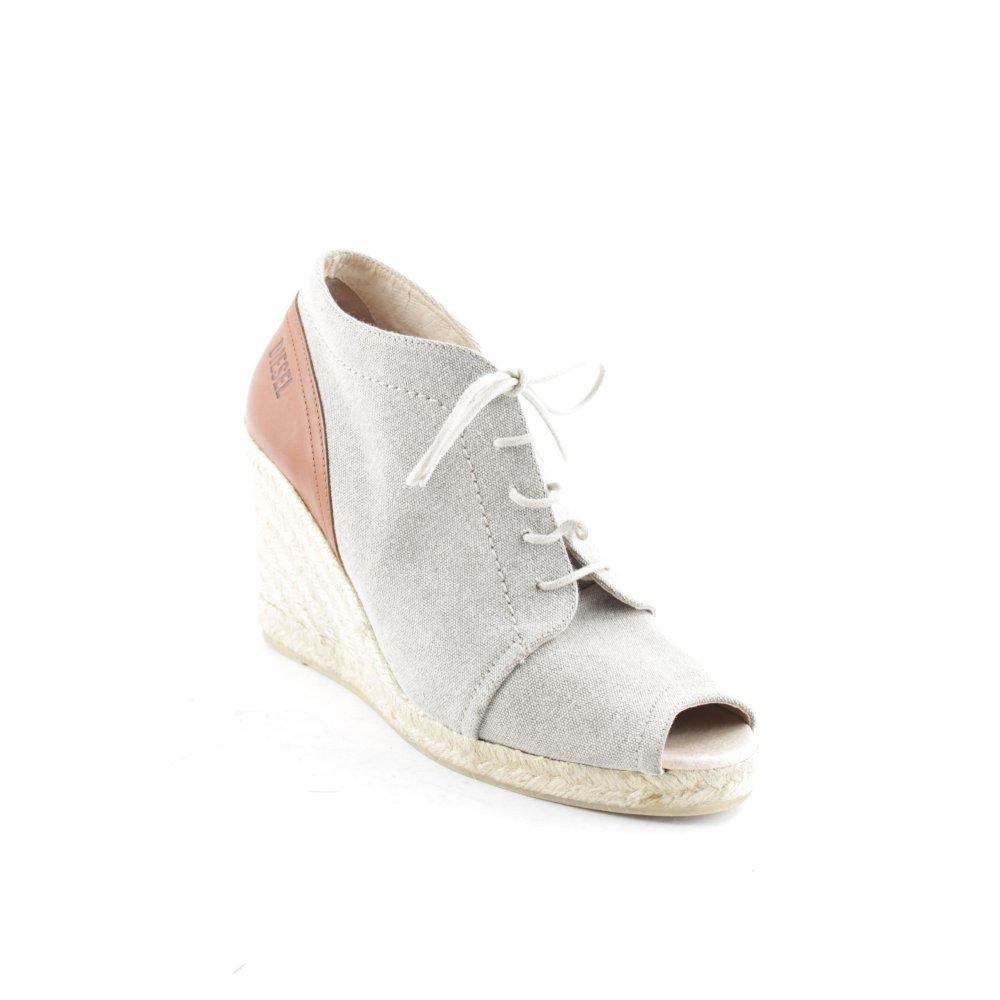 DIESEL Dcollet con plateau beige stile da moda di strada Donna Taglia IT 37