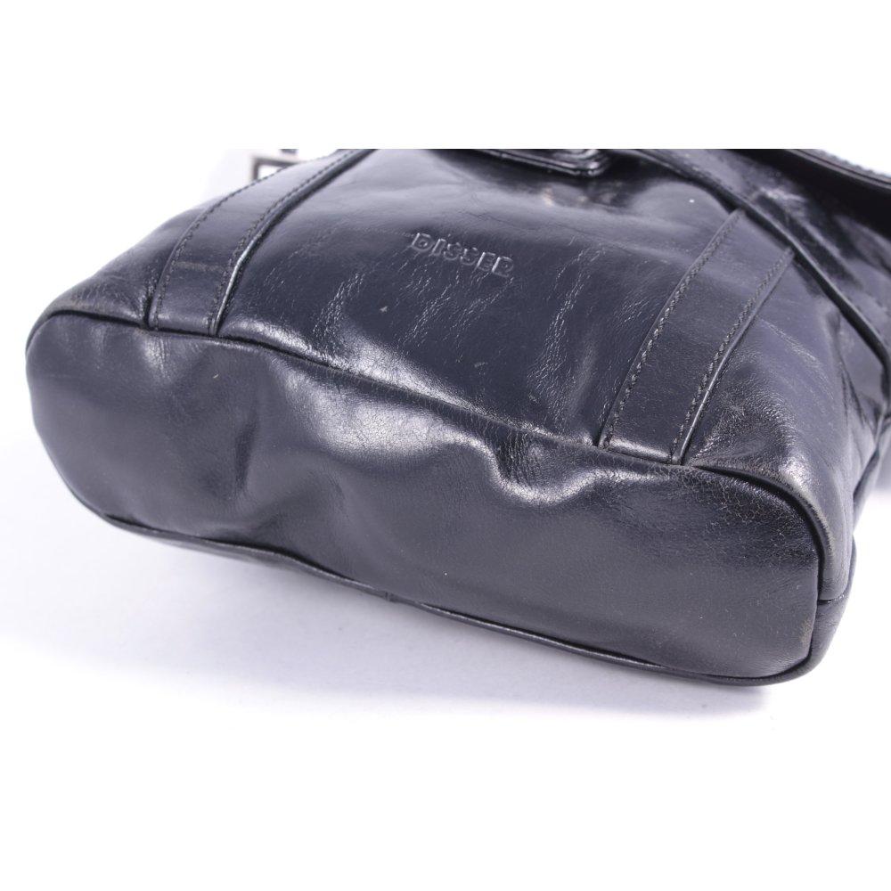 disser umh ngetasche schwarz casual look damen tasche bag. Black Bedroom Furniture Sets. Home Design Ideas