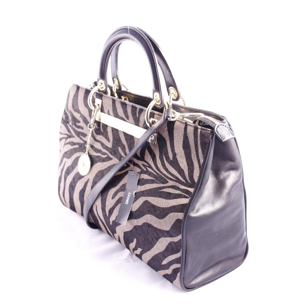 dkny handtasche animalmuster extravaganter stil damen. Black Bedroom Furniture Sets. Home Design Ideas