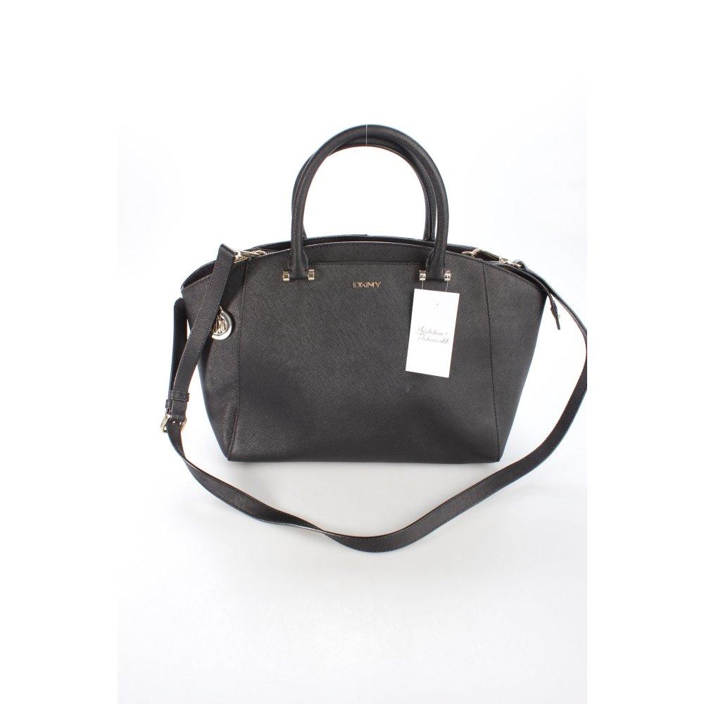 dkny handtasche bryant park saffiano bag black schwarz. Black Bedroom Furniture Sets. Home Design Ideas