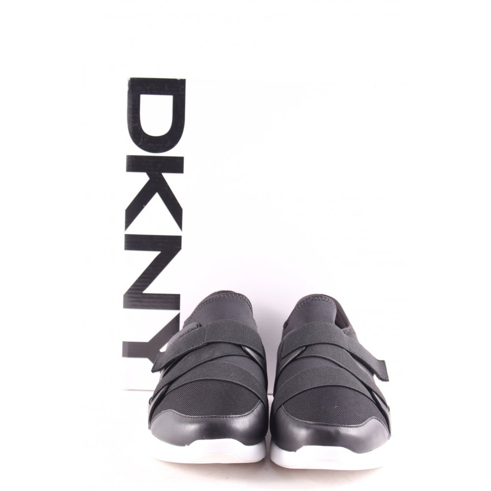 dkny schl pfsneaker tilly sneaker black schwarz damen gr de 39 sneakers ebay. Black Bedroom Furniture Sets. Home Design Ideas