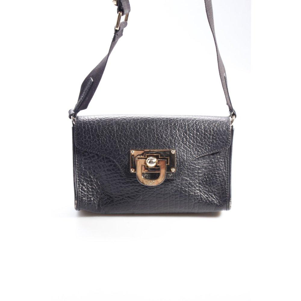 dkny umh ngetasche schwarz damen tasche bag crossbody bag. Black Bedroom Furniture Sets. Home Design Ideas