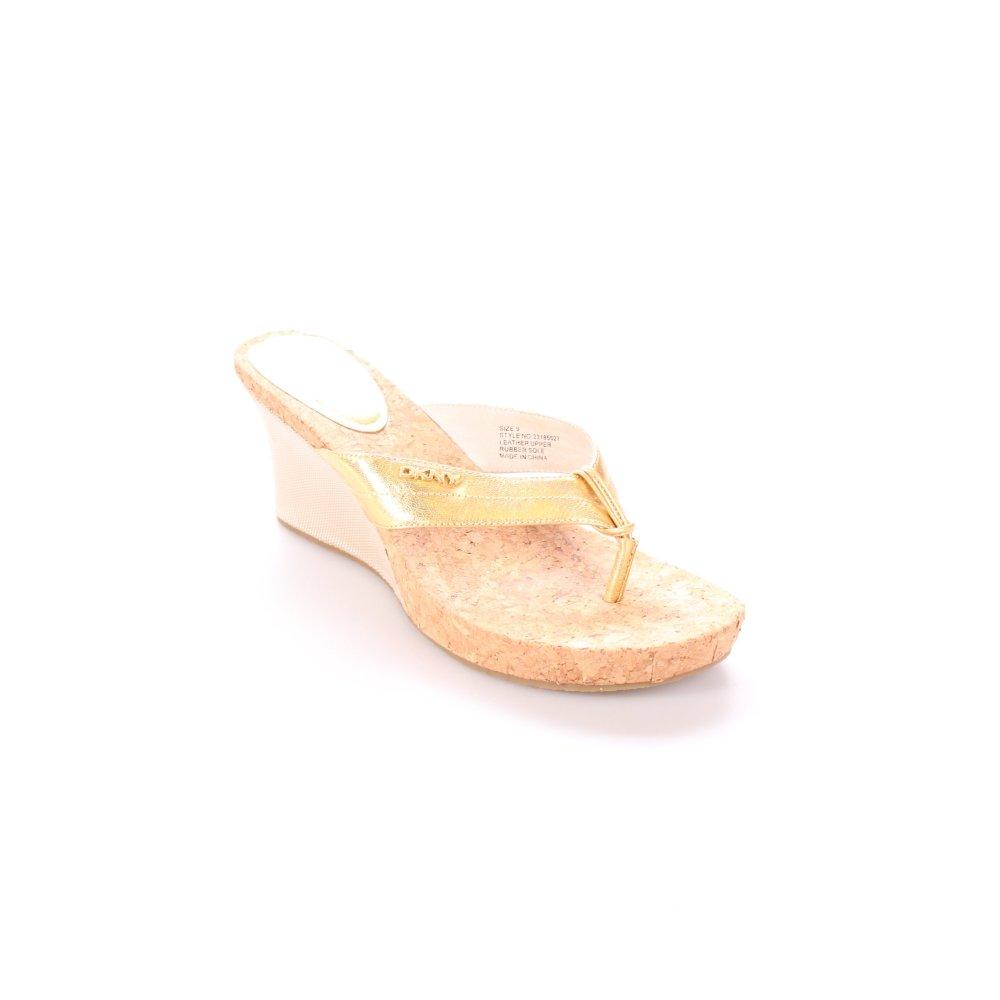 DKNY Toe-Post sandals multicolored beach look Women's Size ...