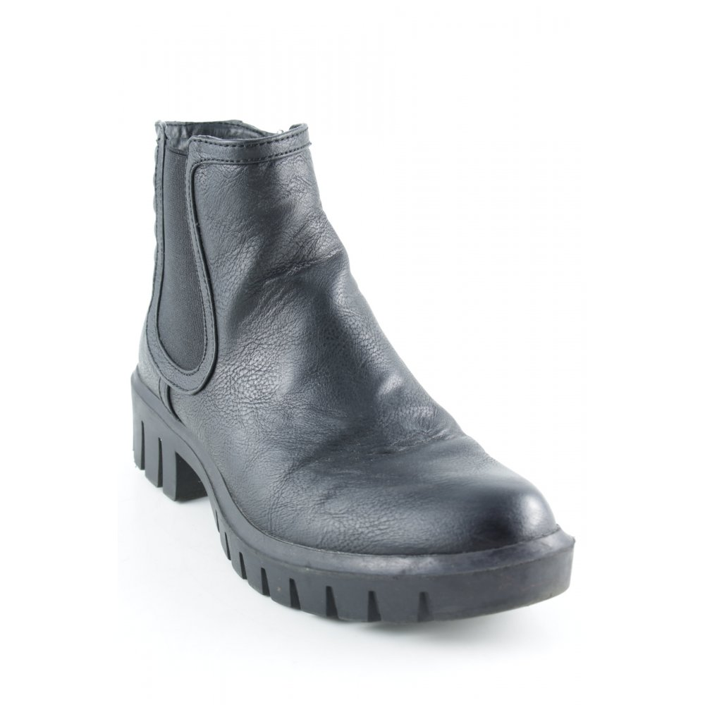 Botines Chelsea negro look casual Mujeres Talla EU 42 Botas Zapatos de mujer