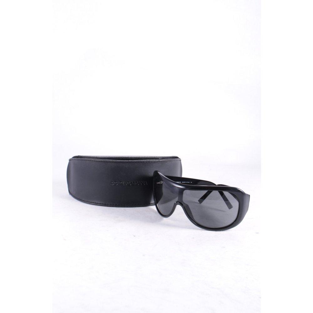 dolce gabbana ovale sonnenbrille schwarz street fashion look damen sunglasses. Black Bedroom Furniture Sets. Home Design Ideas