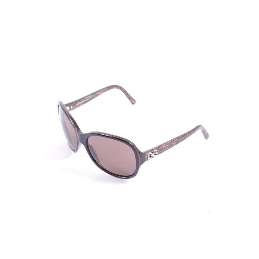 dolce gabbana sonnenbrille braun schwarz street fashion look damen sunglasses. Black Bedroom Furniture Sets. Home Design Ideas