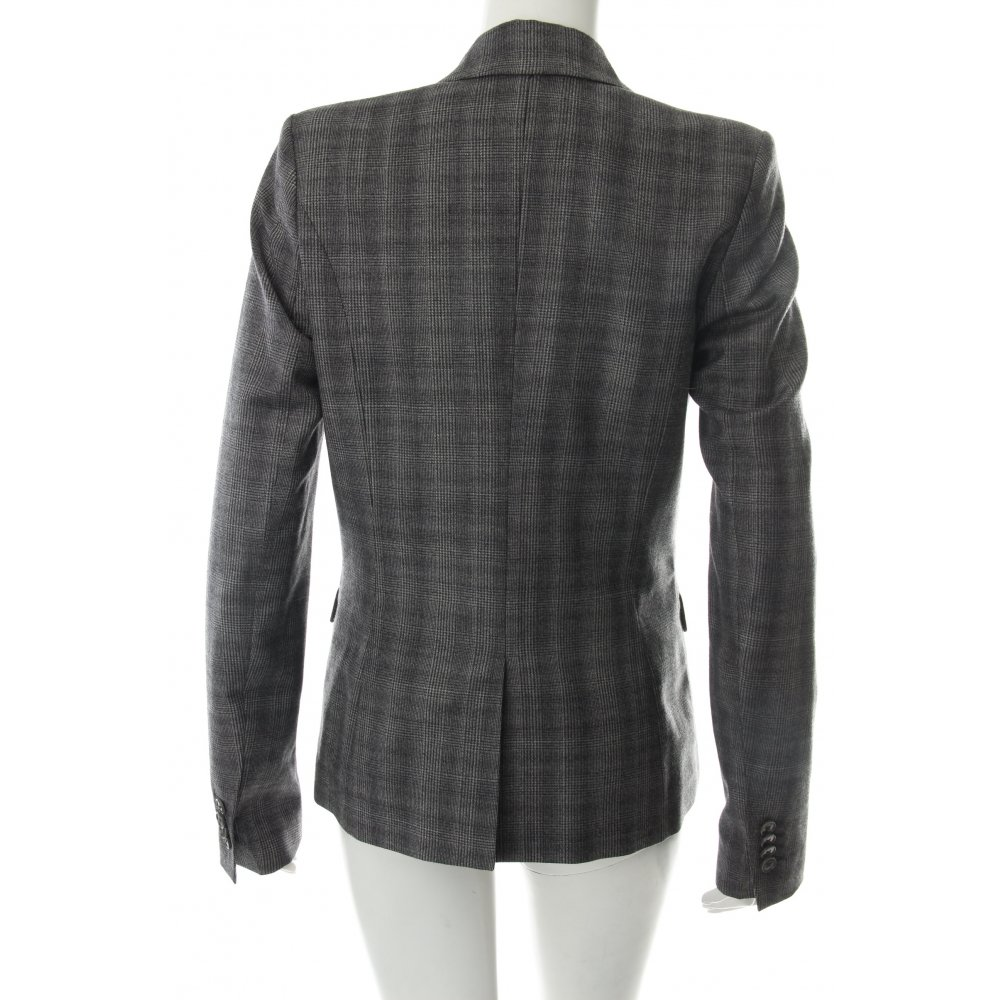 drykorn woll blazer grau damen gr de 38 wool blazer ebay. Black Bedroom Furniture Sets. Home Design Ideas
