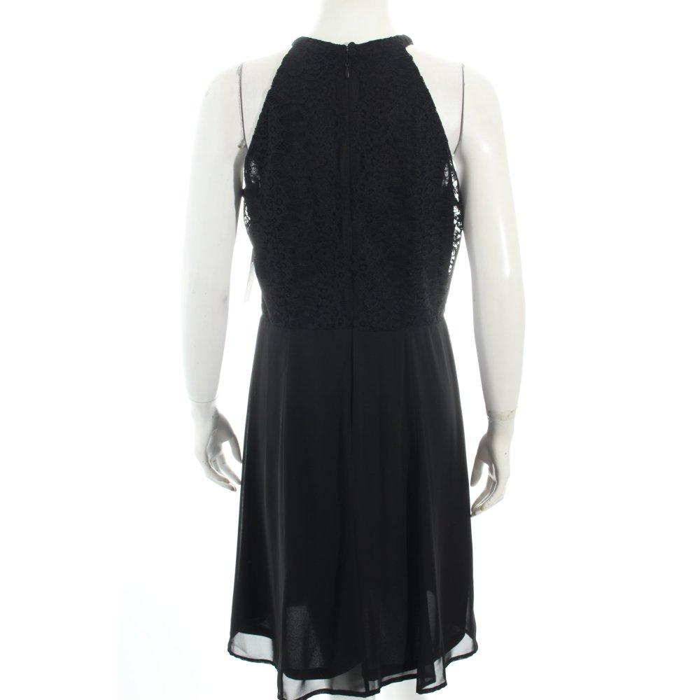 esprit a linien kleid schwarz eleganz look damen gr de 38 dress a line dress ebay. Black Bedroom Furniture Sets. Home Design Ideas
