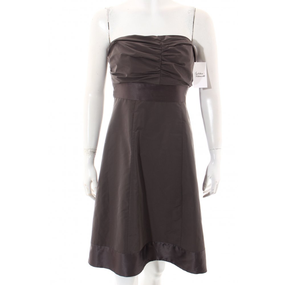 esprit collection abendkleid taupe elegant damen gr de 36 kleid dress ebay. Black Bedroom Furniture Sets. Home Design Ideas