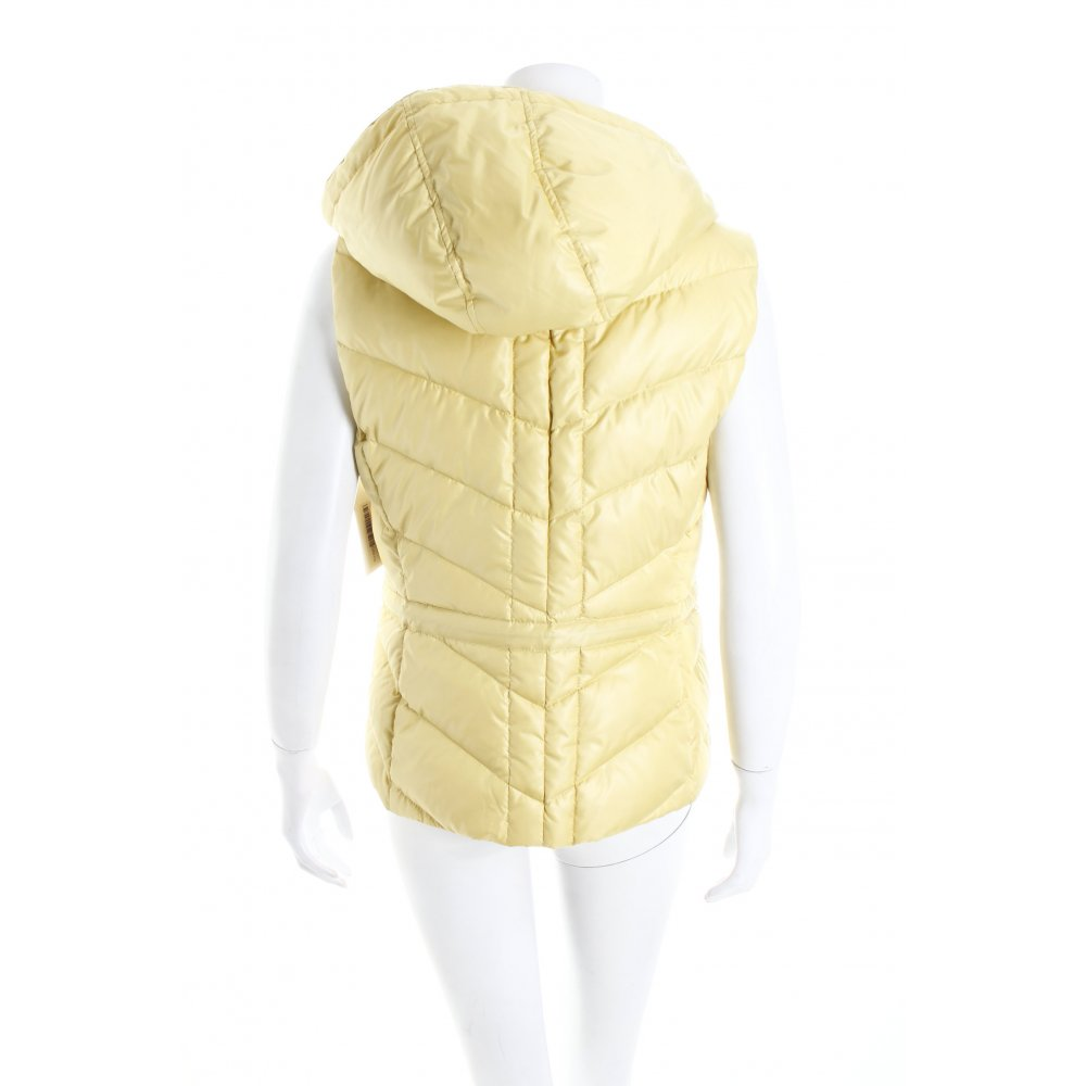 esprit daunenweste gelb casual look damen gr de 36 weste. Black Bedroom Furniture Sets. Home Design Ideas